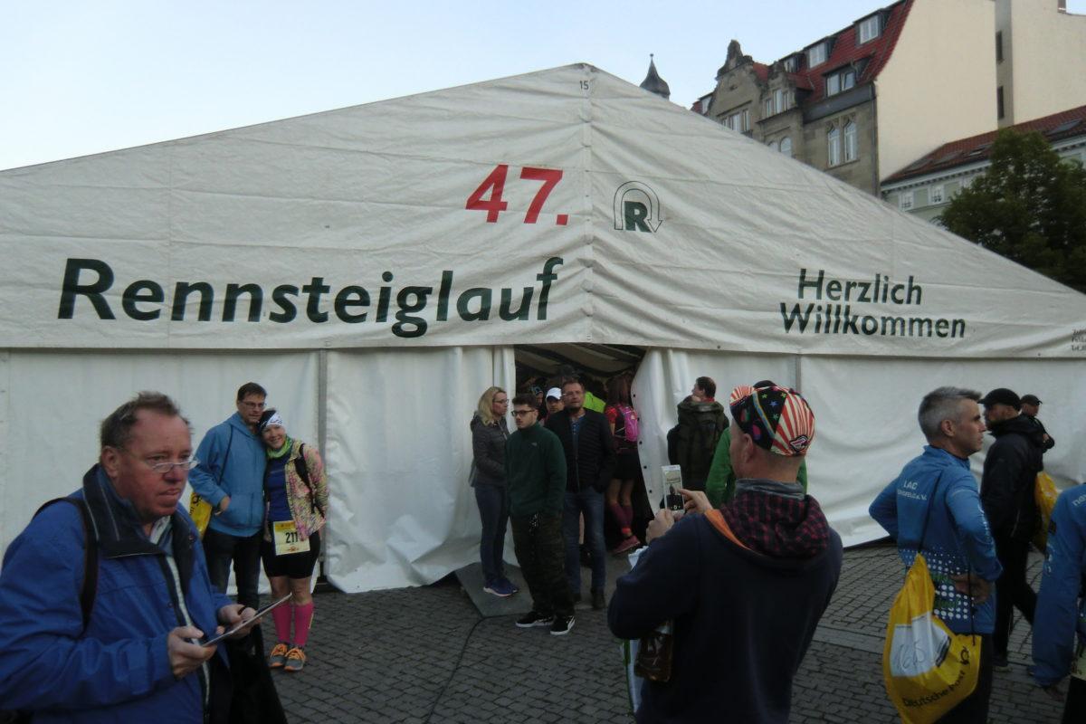 Start am Markt in Eisenach