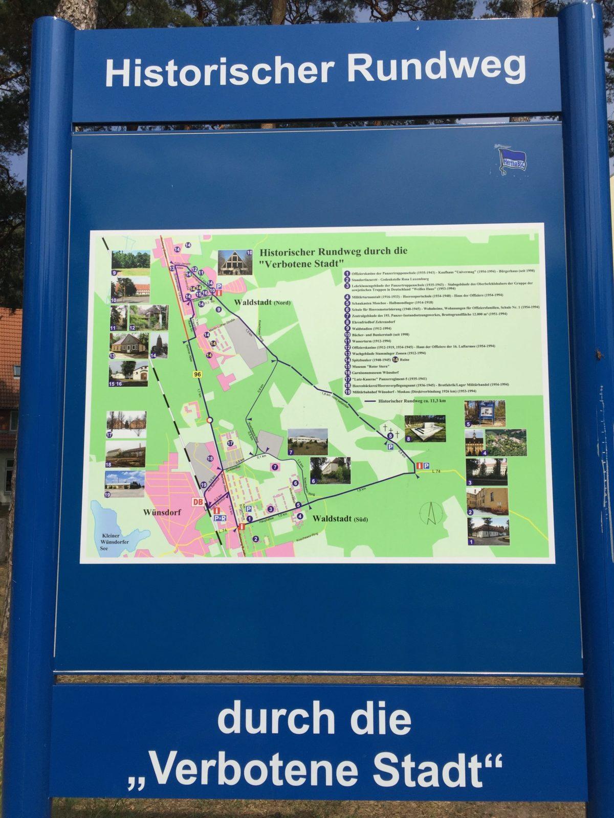 Verbotene Stadt Wünsdorf