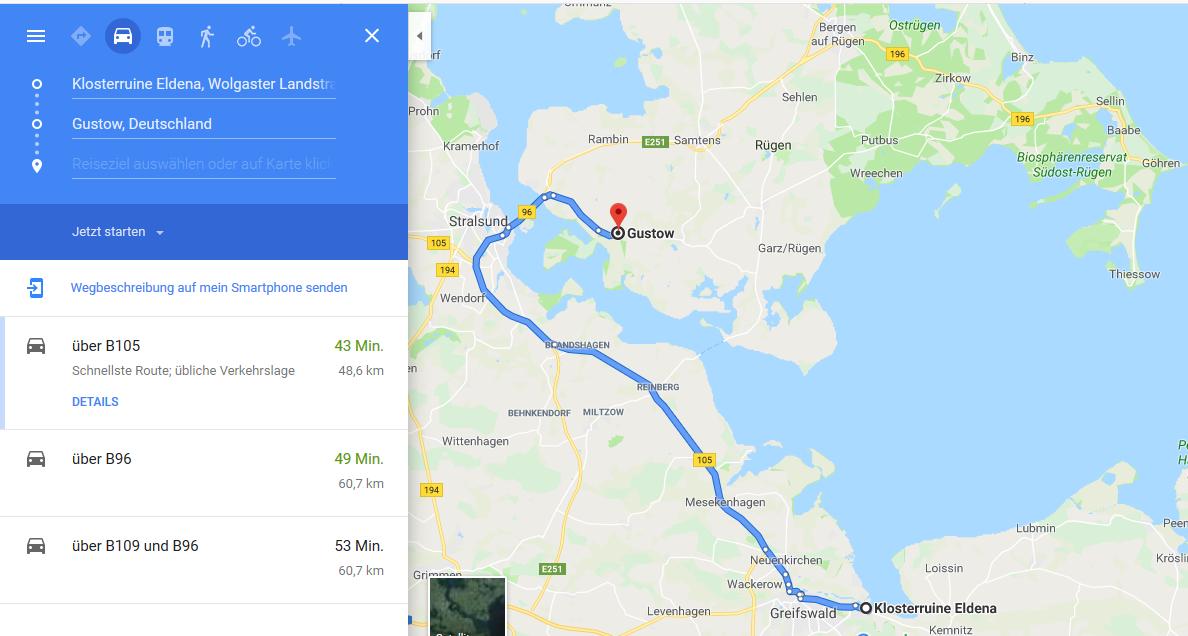 Klosterruine Eldena Greifswald-Gustow Insel Rügen 06.05.2019
