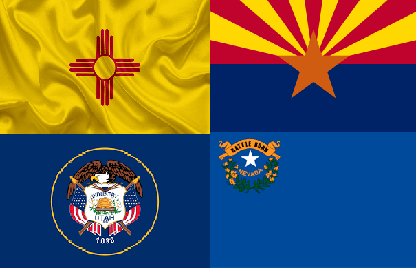 New Mexico - Arizona - Utah - Nevada